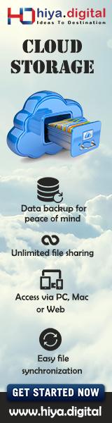 Cloud Storage Hiya Digital