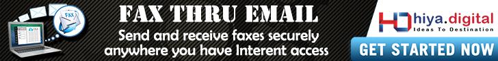 Fax Thru Email Hiya Digital