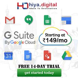 Gsuite Hiya Digital