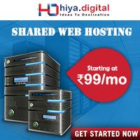 Shared Web Hosting Hiya Digital