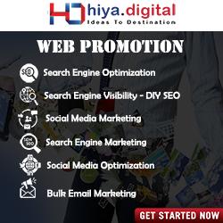 Web Promotion Hiya Digital